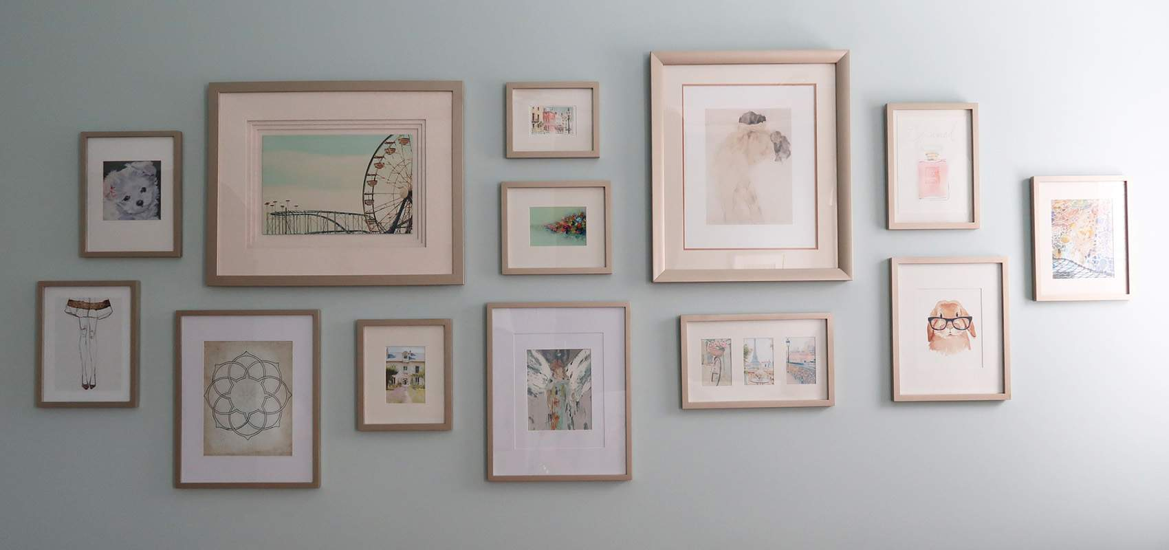 Easily Update Picture Frames With Spray Paint Porch Daydreamer