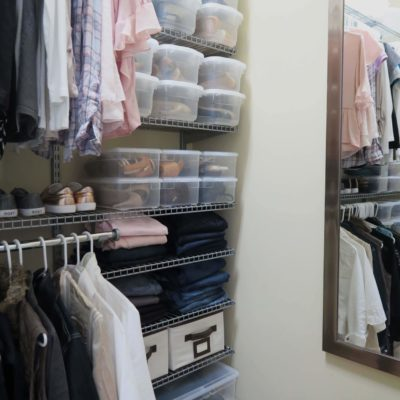 DIY Closet System That Will Organize Your Life!