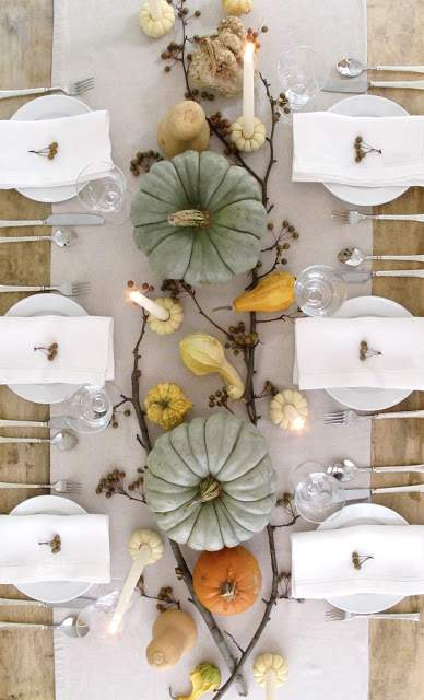 Pumpkin and Gourd Table Setting_Jennysteffens