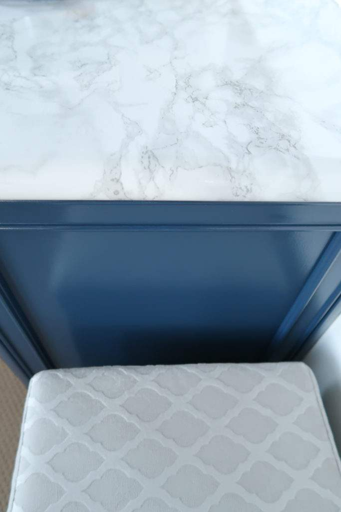 dc fix Marble Contact Paper on Counter