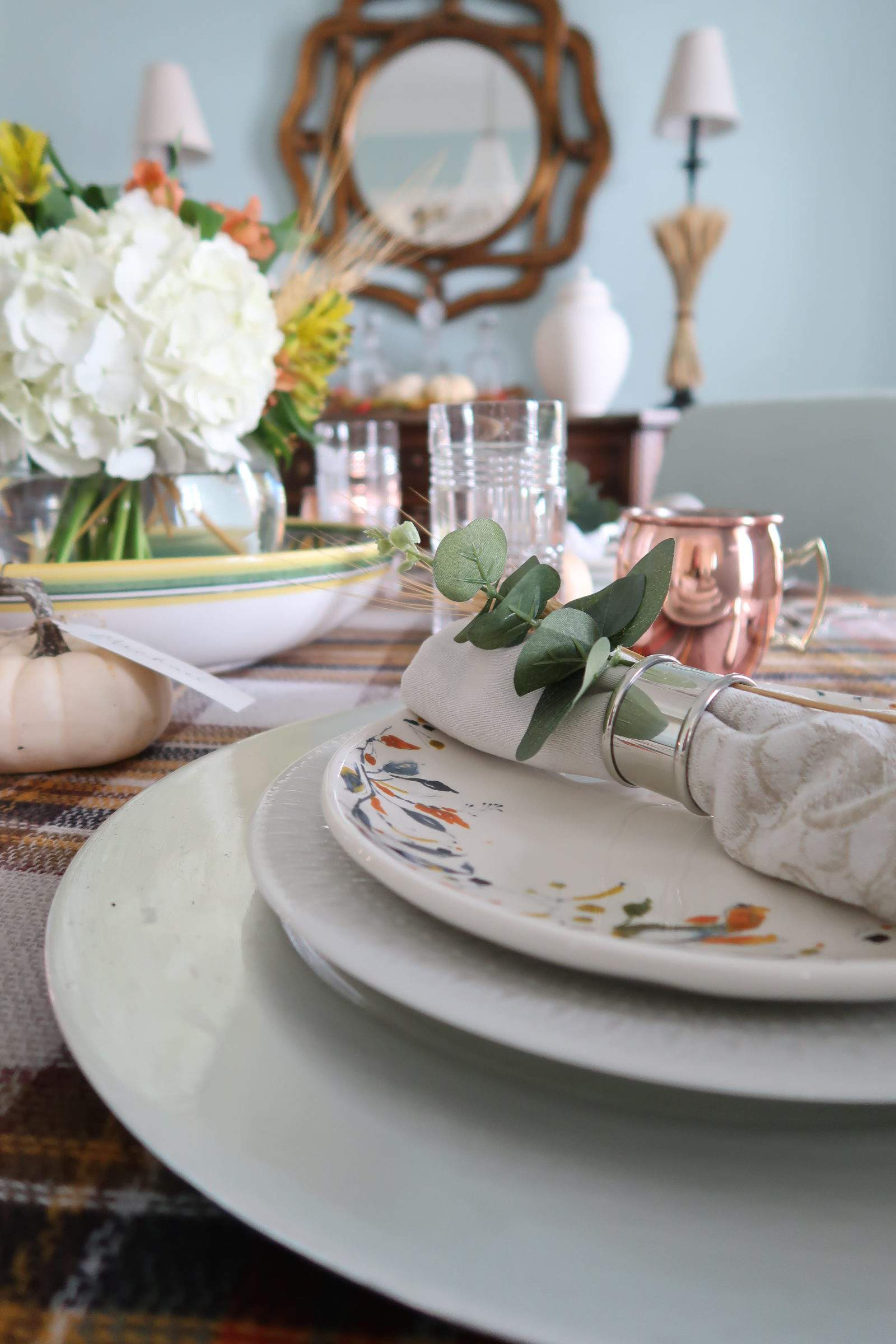 Napkin Ring-Thanksgiving-Place setting-Porch Daydreamer