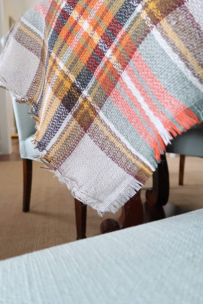 Scarf for the Thanksgiving Table-Porch Daydreamer