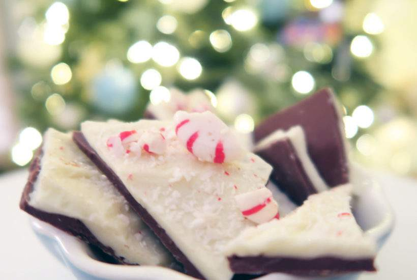 Microwave Peppermint Bark_Porch Daydreamer