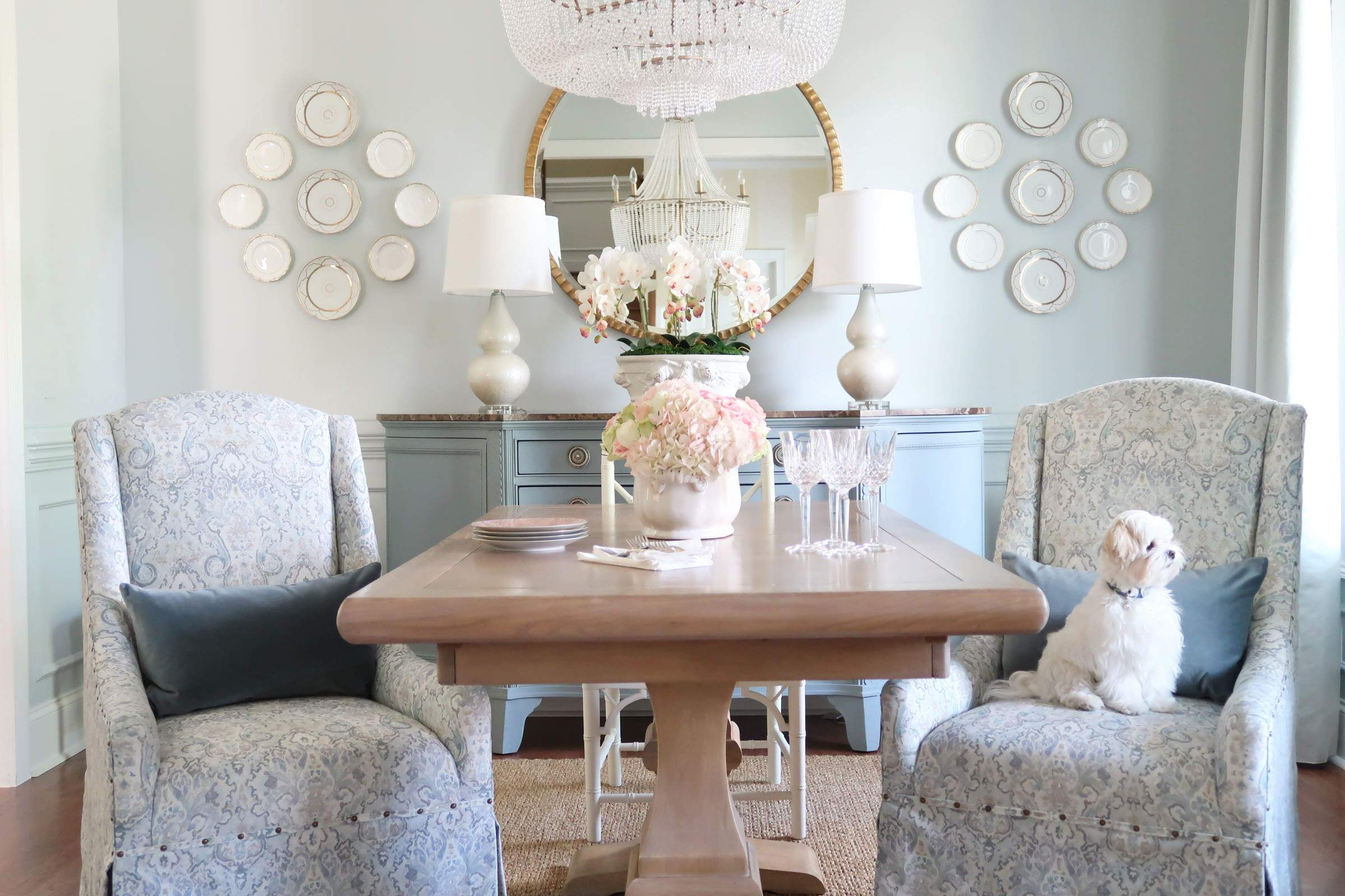 French Country Modern Dining Room