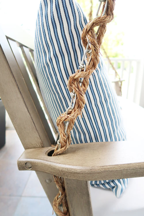 Close-up-of-chain-wrapped-with-rope
