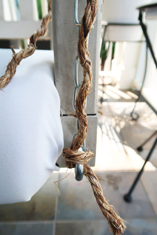 secure-the-middle-section-of-rope-by-tying-it