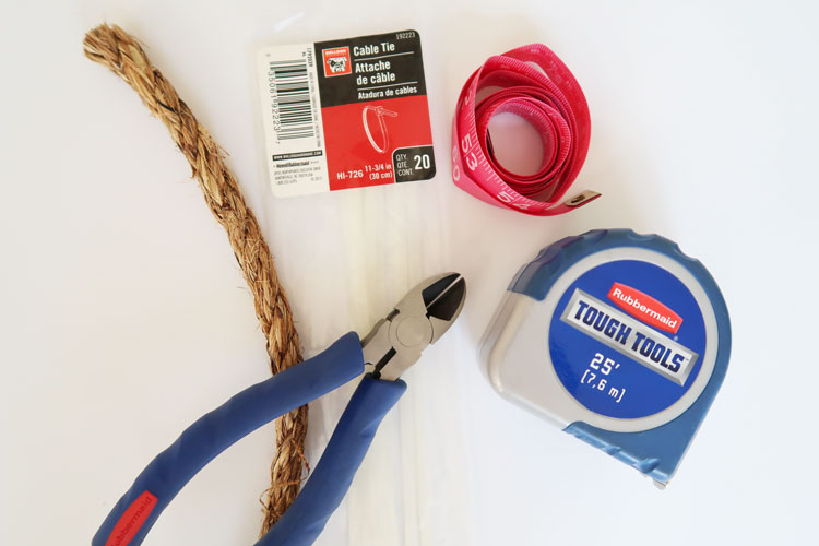 supplies-to-wrap-swing-chain-in-rope