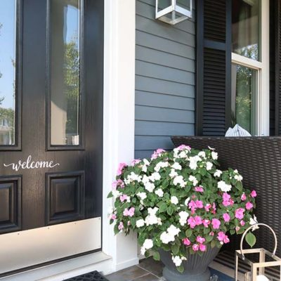 End of Summer Home Tour with PAINT COLORS!