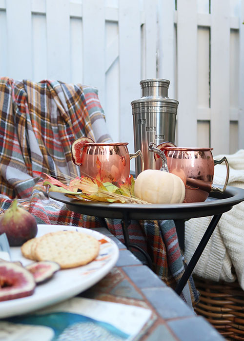 Fig-Moscow Mule-Copper Mugs