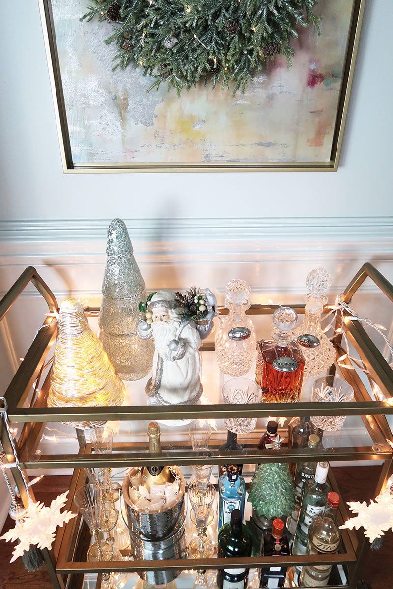 Looking-through-bar-cart-glass