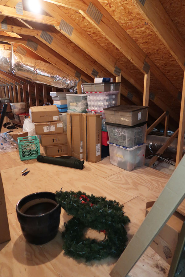 Attic-before-organizing-wreaths