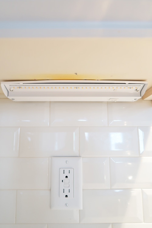attach-LED-light-panel-to-base-attached-to-cabinet