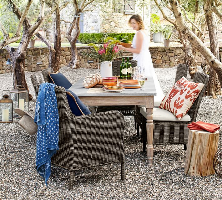 woman-outdoor-entertaining-pottery-barn-calistoga-dining-table-o