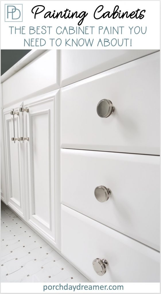 best most durable cabinet paint that doesn't require a top coat close up of white cabinet