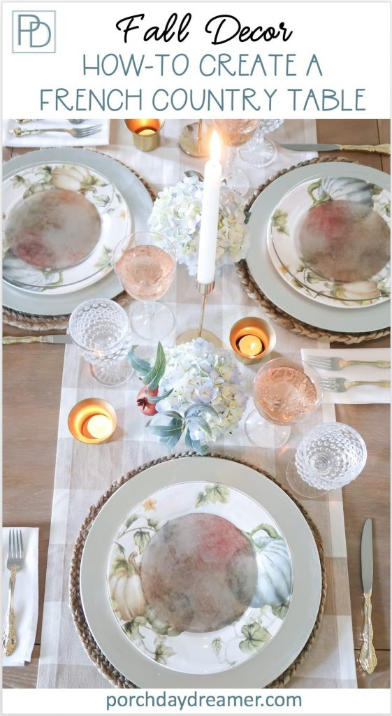 How to Create a Fall French Country Table