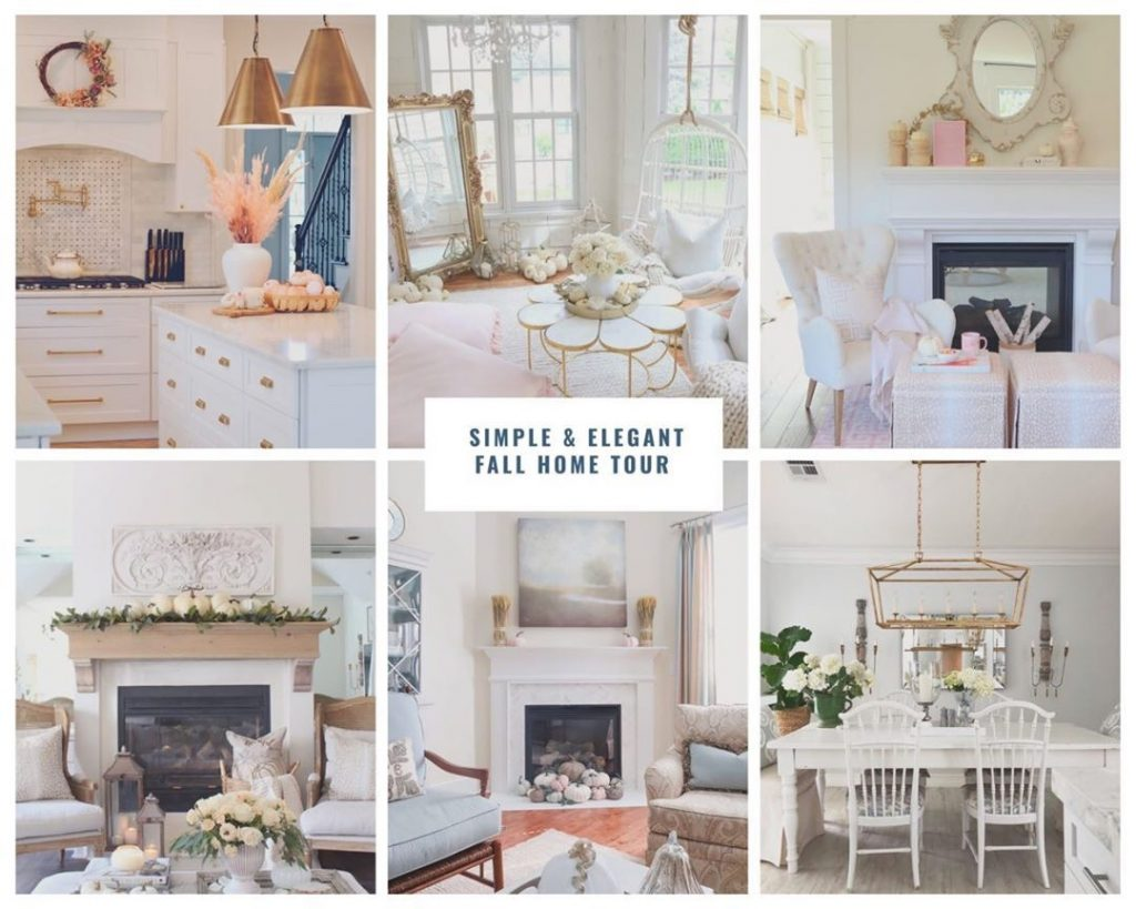 simple and elegant fall home tour lots of fall decor ideas inspiration
