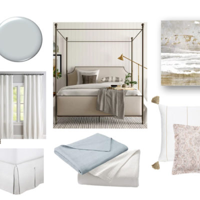 Master Bedroom Mini-Makeover: Peaceful Retreat