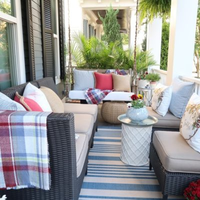 Porch and Patio Fall Cleaning and Decor Tips