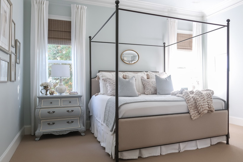 cover-master-bedroom-room-peaceful-retreat-reveal-king-canopy-bed-quiet-moments-paint-painted-nightstand