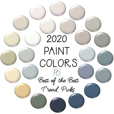 2020 Paint Color Trends: 24 Best of the Best Picks