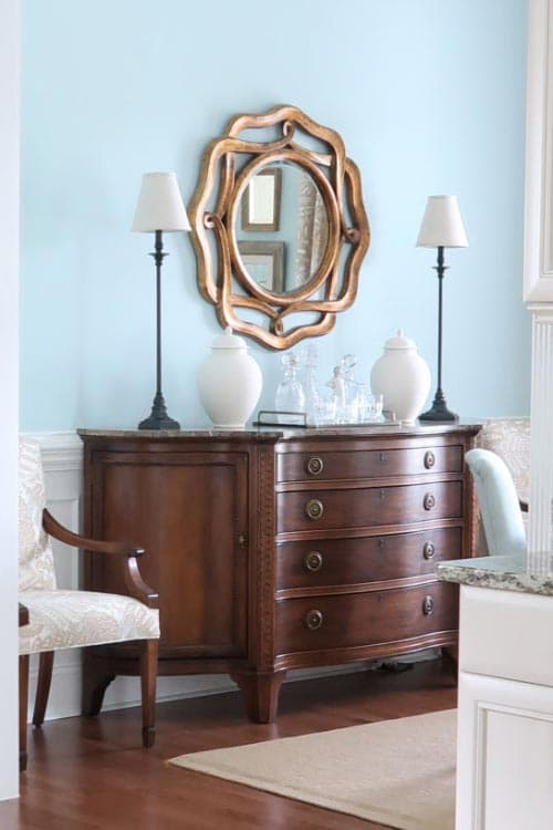 stained-credenza-dining-room-before-chalk-paint-furniture-makeover