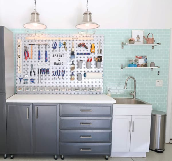 close-up-tool-peg-board-utility-sink-shelving